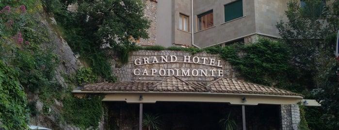 Grand Hotel Capodimonte is one of Posti che sono piaciuti a Emre.