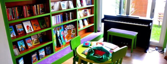kids nook is one of Çocukla Gidilcek Mekanlar.