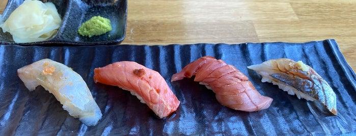 Sushi Maruyama is one of My Favourites.