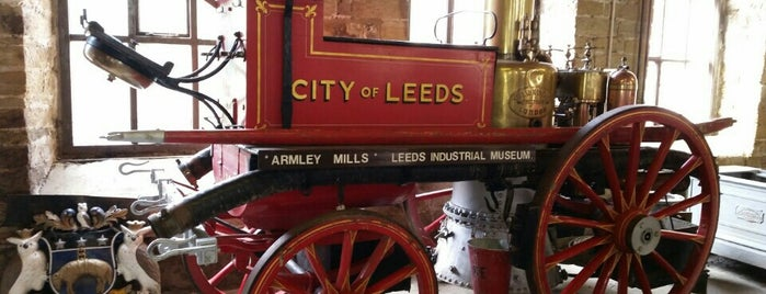 Leeds Industrial Museum at Armley Mills is one of Posti che sono piaciuti a Victor.