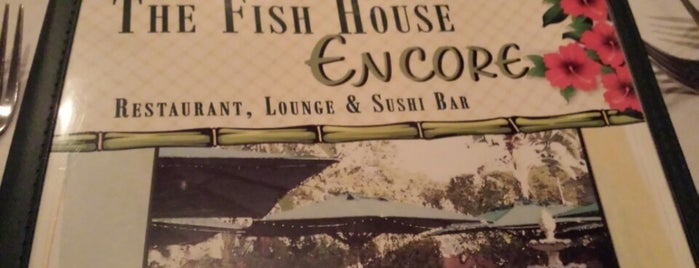 Fish House Encore is one of Lugares favoritos de Carol.