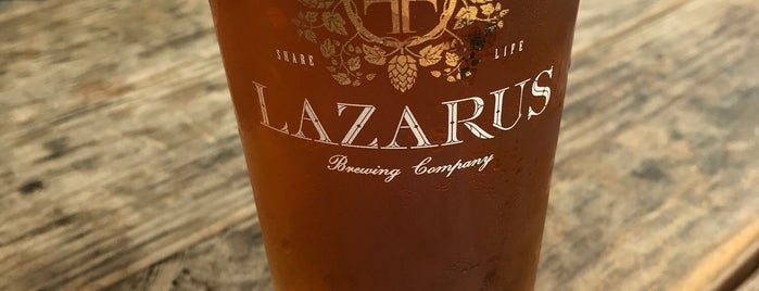 Lazarus Brewing Company is one of Where to Drink in Austin.