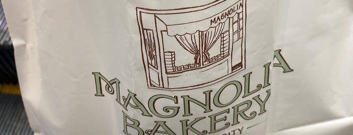Magnolia Bakery is one of Rachel 님이 좋아한 장소.