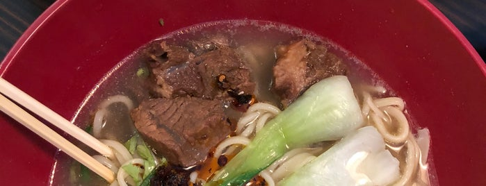 Max's Beef Noodles is one of Lugares guardados de Dominik.