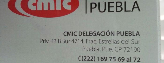 CMIC Puebla is one of Lugares favoritos de Lili.