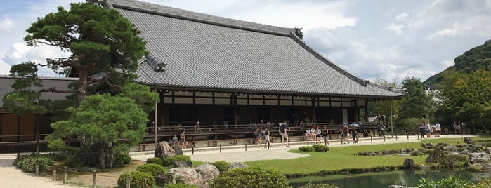 Tenryu-ji Temple is one of Lugares favoritos de Eric.