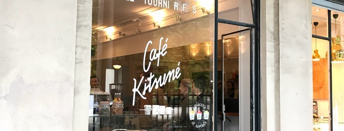 Café Kitsuné is one of Lugares favoritos de Eric.