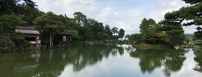 Kenrokuen Garden is one of Lugares favoritos de Eric.