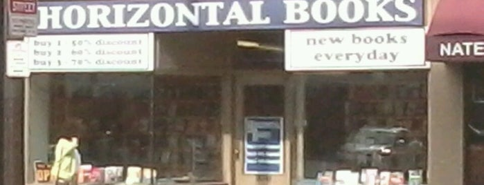 Horizontal Books is one of Locais curtidos por Colleen.