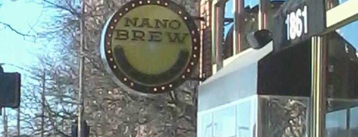 Nano Brew Cleveland is one of Ohio City Hot Spots.