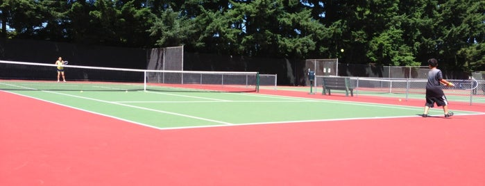 Central Park Tennis Club is one of Seattle.