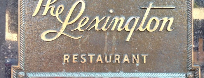 The Lexington Restaurant is one of The Great Twin Cities To-Do List.