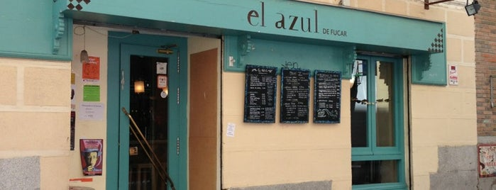 El Azul is one of Comilona y copeteo en Madrid.