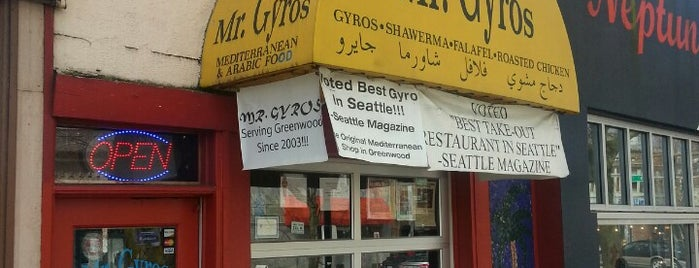 Mr. Gyros is one of Seattle.