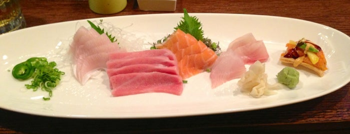 Amura Japanese Cuisine is one of Favorites.