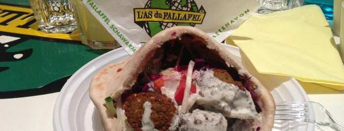 L'As du Fallafel is one of FatList - Paris [FR].