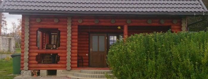 Ezerkrasti viesu nams is one of AtputasBazes.lv VOL 2.