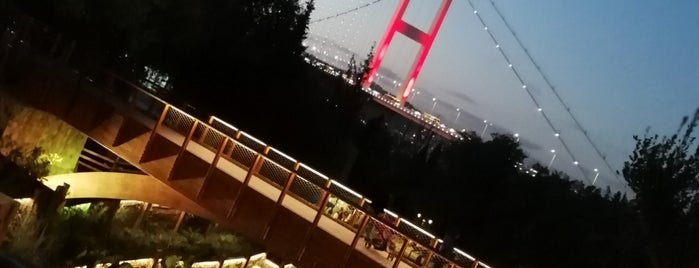 Nakkaştepe Millet Parkı is one of Istanbul.