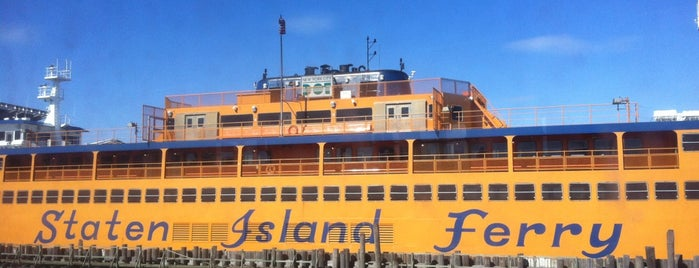 Staten Island Ferry Boat - Guy V. Molinari is one of Big Apple Venues.
