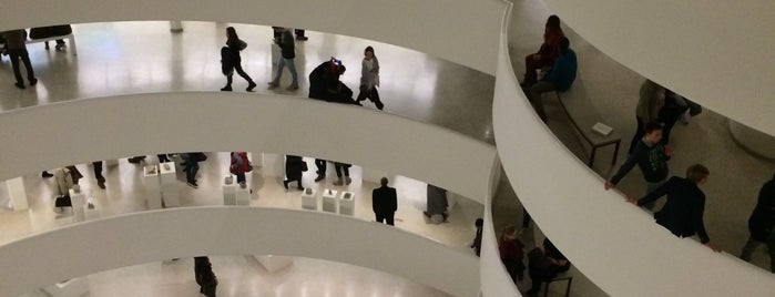 Solomon R Guggenheim Museum is one of The New Yorkers: Extracurriculars.