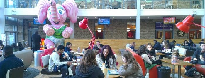 University of Leicester Students' Union is one of Souzanna: сохраненные места.