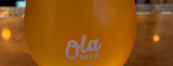 Ola Brew Co. is one of Big island Hawaii.