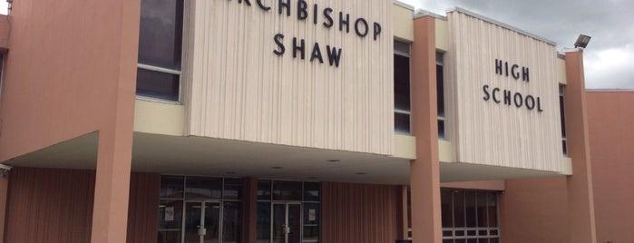 Archbishop Shaw High School is one of สถานที่ที่ Christine ถูกใจ.