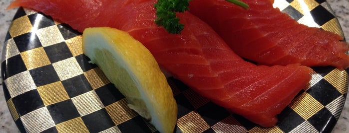 Ten Sushi is one of Seattle x Seat of King County eats.