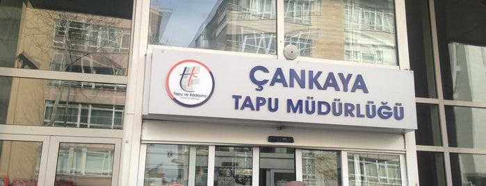 Çankaya Tapu Müdürlüğü is one of Seckin : понравившиеся места.
