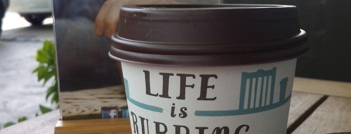 Caribou Coffee is one of Mesut'un Beğendiği Mekanlar.