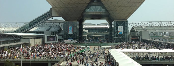 Tokyo Big Sight is one of よく行くところ.