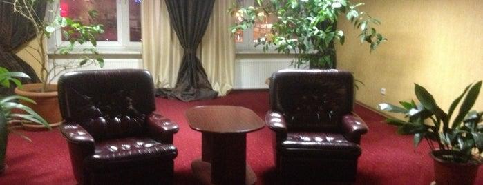 Конгресс-отель Меридиан / Meridian Congress Hotel is one of Места Мурманска.