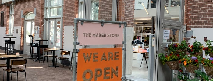 The Makerstore is one of Amsterdam.