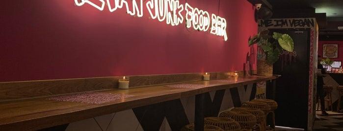 Vegan Junk Food Bar is one of Amsterdam.