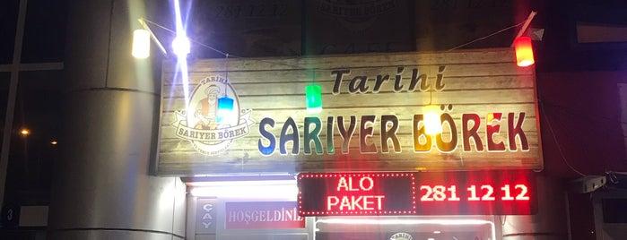 Tarihi Sarıyer Börek (Eryaman Galeri A.V.M  Sube ) is one of Lieux qui ont plu à Arda.