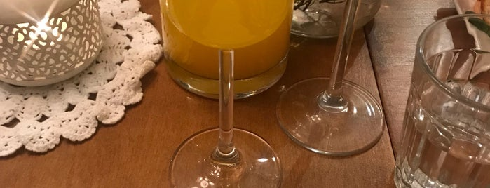 Mimosa is one of Food.