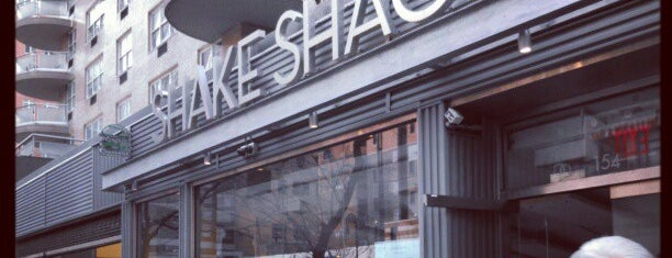 Shake Shack is one of Orte, die Nick gefallen.