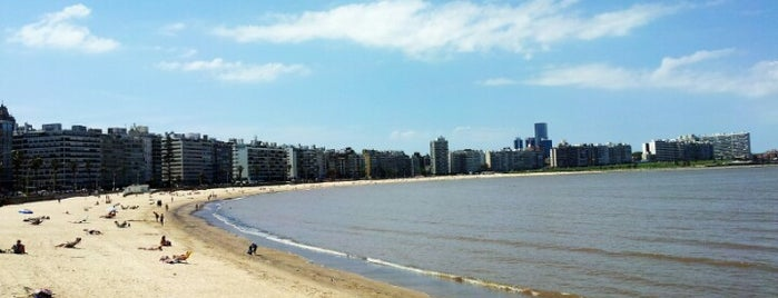 Playa de los Pocitos is one of Uruguay.
