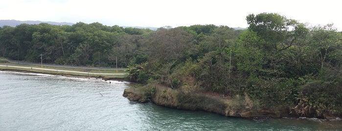 Davis Landing is one of Panama.