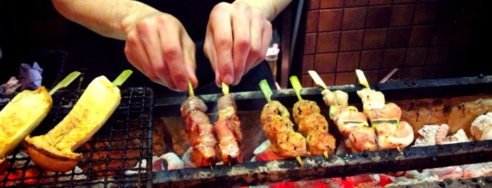 Bincho Yakitori is one of London.