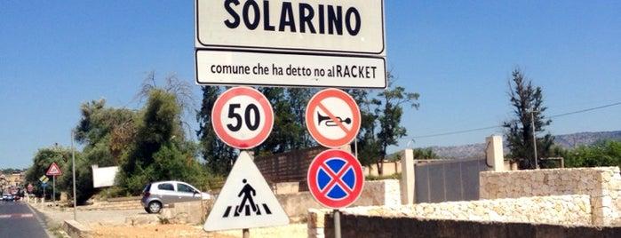 Solarino is one of Grand Tour de Sicilia.