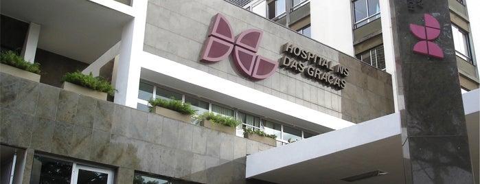 Hospital Nossa Senhora das Graças is one of Locais curtidos por Farid Meire.