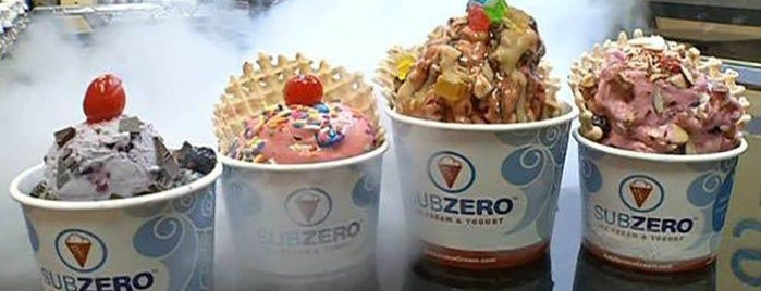 Sub Zero Nitrogen Ice Cream is one of Jared's Liked Places.
