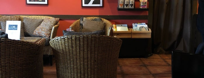 Rockn' Joe Coffeehouse & Bistro is one of Lieux sauvegardés par Lizzie.