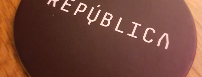 Republica is one of Bars.
