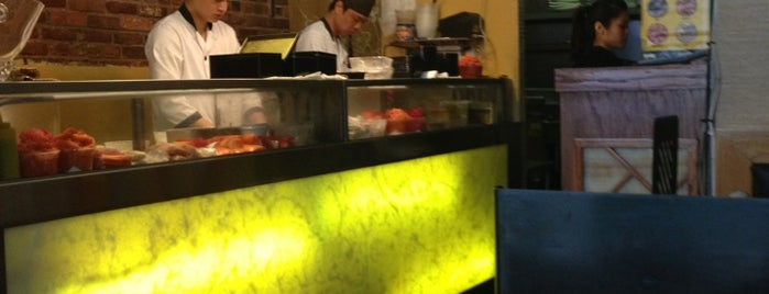 Oka Sushi is one of Financial district/downtown.