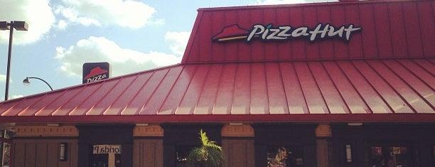 Pizza Hut is one of M.a. : понравившиеся места.