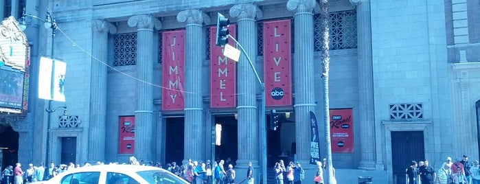 Jimmy Kimmel Live! is one of ROAD TRIP USA · 2016.
