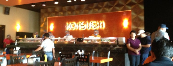 Konsushi is one of Monch's Most Fabulous Food Choices....