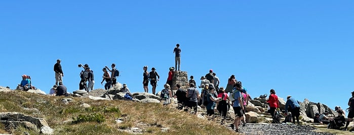Mt Kosciuzko Summit is one of Favourite places in the world.